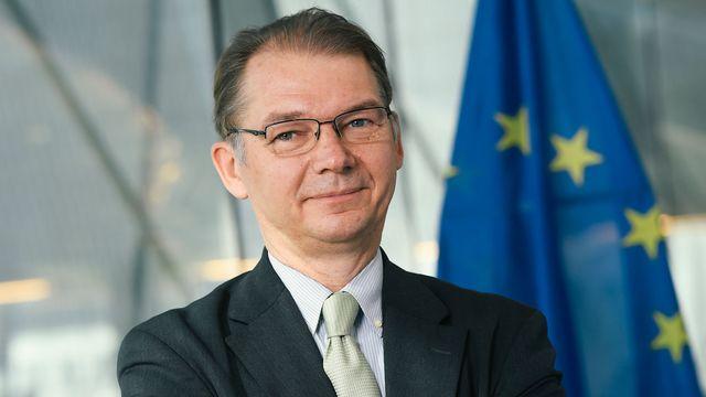 L'eurodéputé belge Philippe Lamberts. [Dirk Waem - Belga/AFP]