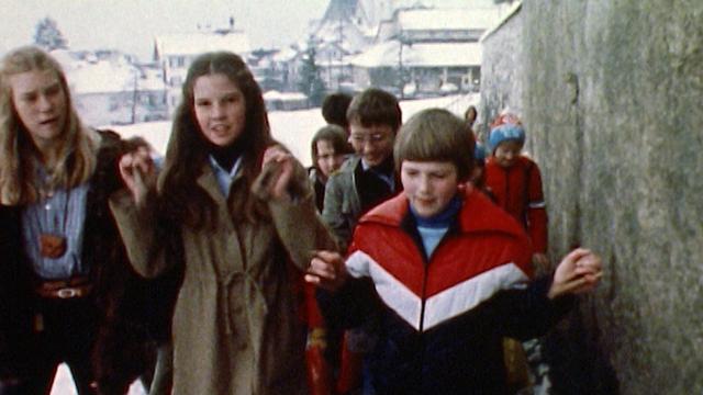 Les castagnettes et le concours du Priis-Chlefele à Schwytz en 1980. [RTS]