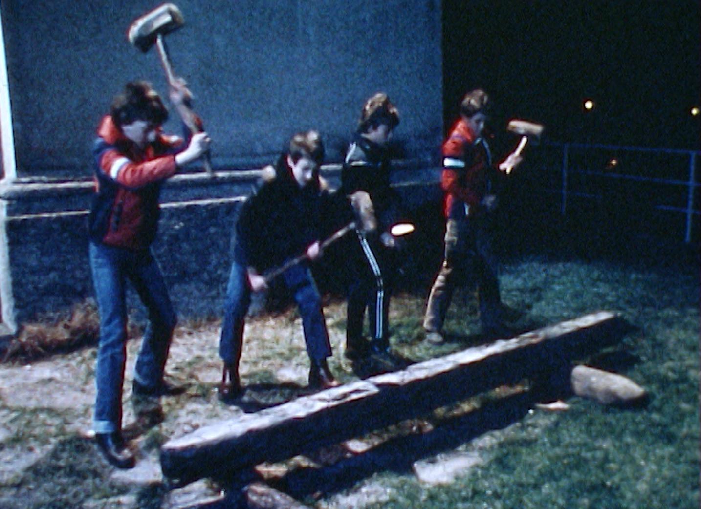 Le marteau de bois