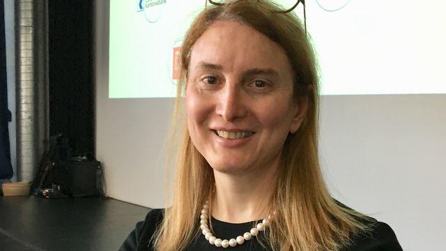 Bea Knecht, pionnière suisse du numérique, fondatrice de Zattoo. [Delphine Gendre - RTS]