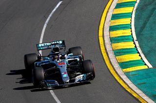 Lewis Hamilton a signé sa 73 pôle position de sa carrière. [Diego Azubel - EPA/Keystone]