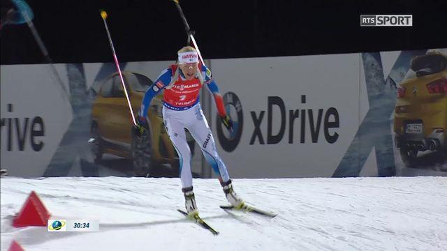 Tyumen (RUS), poursuite dames: Kaisa Makarainen (FIN) s'impose devant Anais Bescond (FRA) et Laura Dahlmeier (GER) [RTS]