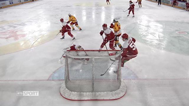 Hockey: Huet termine sa carrière sur un succès avec le LHC [RTS]
