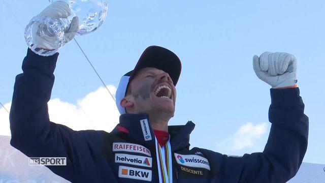 Télémark: Nicolas Michel remporte le grand globe de cristal [RTS]