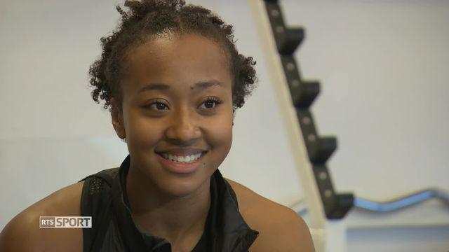 Mag: Sarah Atcho est une redoutable sprinteuse suisse de 22 ans [RTS]