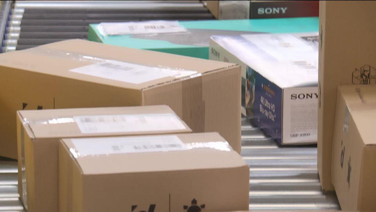 Dossier: Amazon débarque en Suisse [RTS]