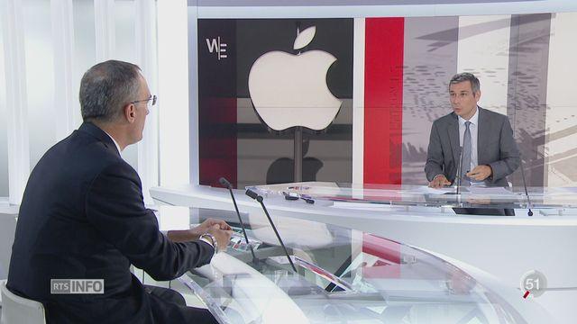 Irlande - Amende Apple: les explications de Xavier Oberson, avocat fiscaliste [RTS]