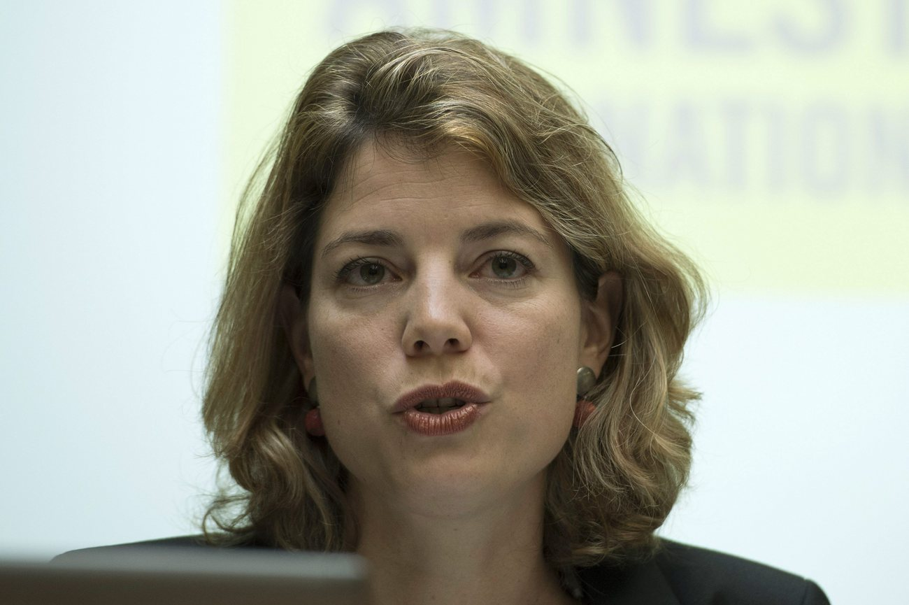 Manon Schick, directrice d'Amnesty International