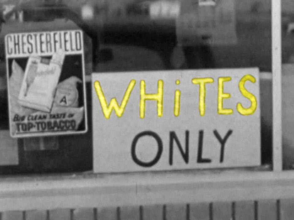 Ségrégation raciale [INA-RTS]