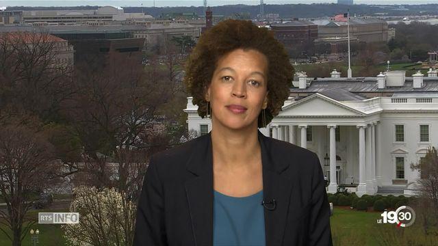 Affaire Skripal - Riposte de Moscou: les explications de Pauline Simonet, à Washington [RTS]