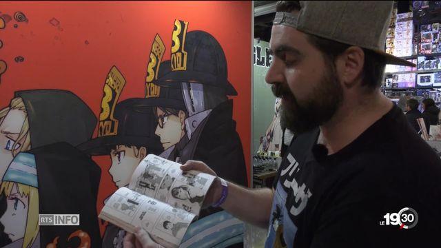 Manga: l'art qui s'affirme [RTS]