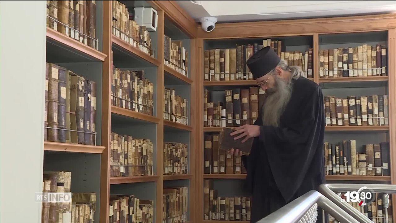 Monastère de Sainte-Catherine: des siècles de manuscrits [RTS]