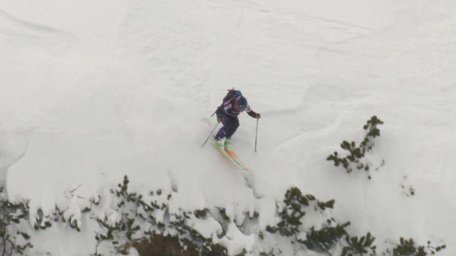 Fieberbrunn (AUT), ski dames: Lorraine Huber (AUT) s'impose à domicile [RTS]