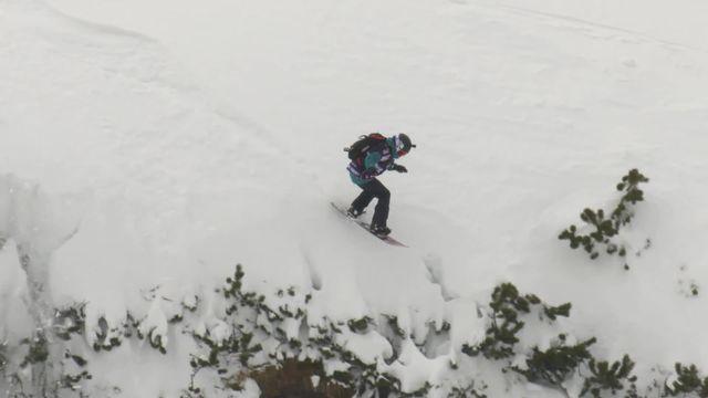 Fieberbrunn (AUT), snowboard dames: victoire de Marion Haerty (FRA) [RTS]