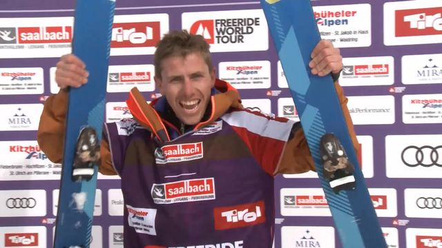 Fieberbrunn (AUT), ski hommes: victoire de Mickael Bimboes (FRA) [RTS]
