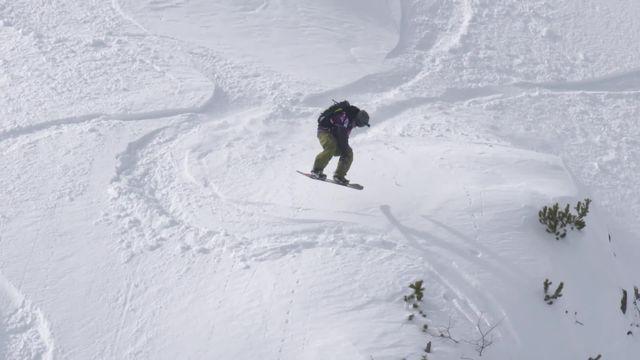 Fieberbrunn (AUT), snowboard hommes: 1re place pour Gigi Ruf (AUT) [RTS]