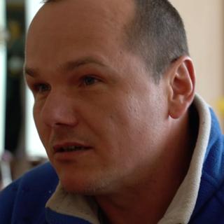 Pavel, un ouvrier du bâtiment qui a voté pour Milos Zeman.