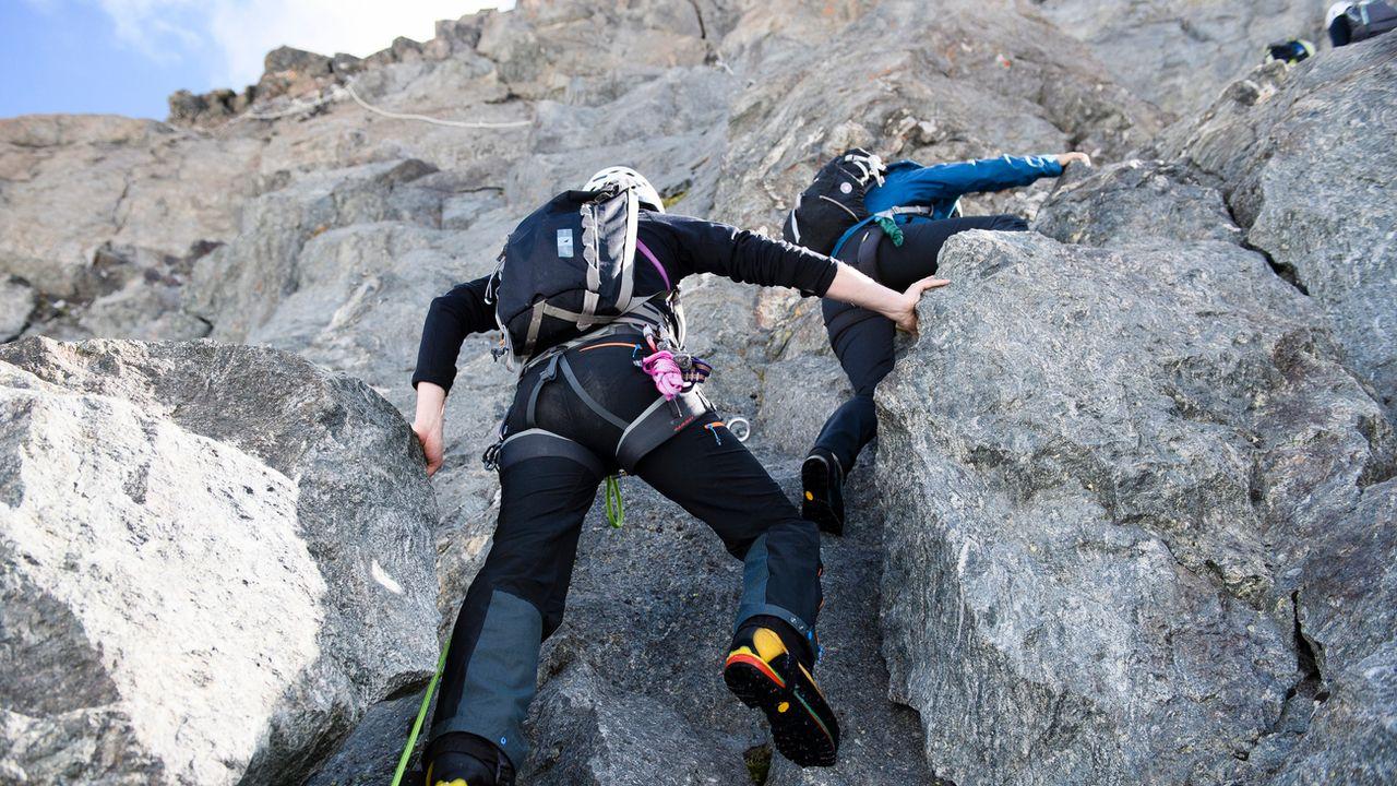 L'association souhaite redonner de la visibilité aux activités de montagne à Genève. [Manuel Lopez - Keystone]
