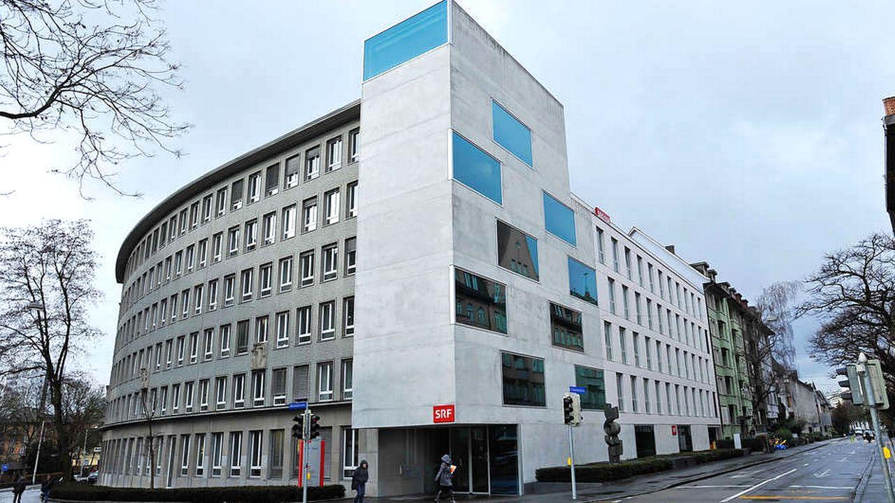 Le bâtiment qui abrite les studios de SRF, à Berne. [SRF]