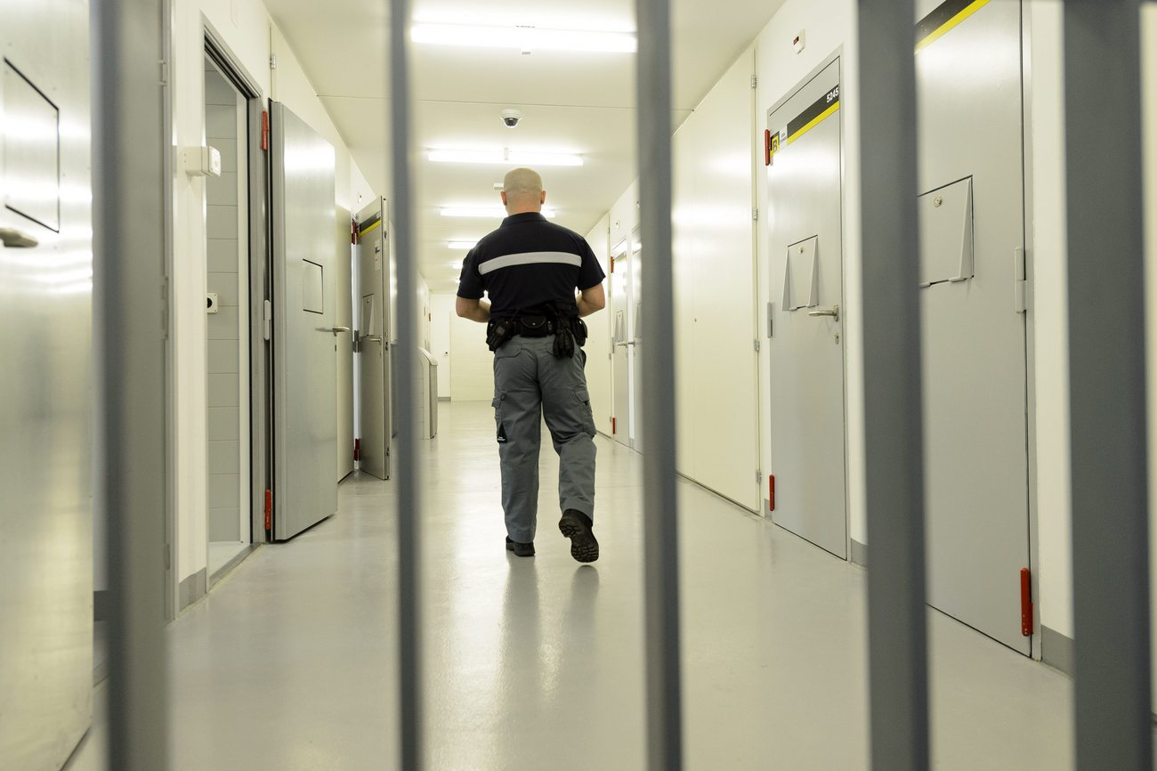 Un gardien de prison dans le canton de Vaud (photo d'illustration).
