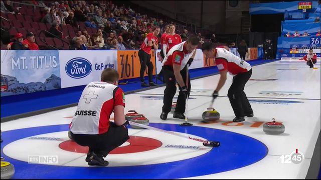 Curling- Mondial: la Suisse se replace dans la course aux médailles [RTS]