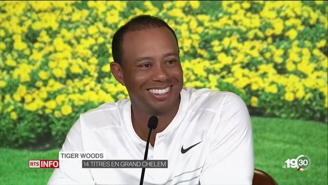 Tiger Woods: retour sur un green après un an d'absence [RTS]