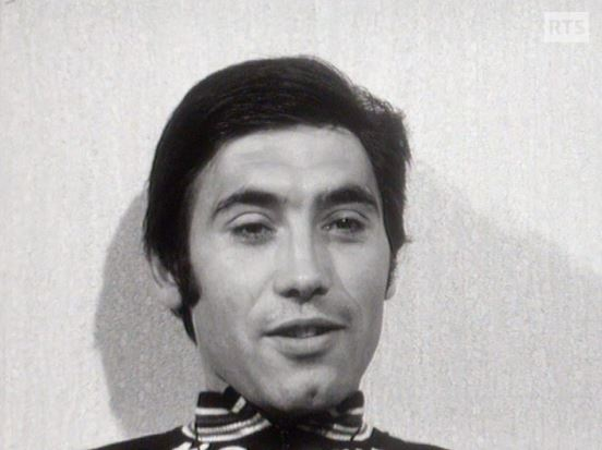 Eddy Merckx à l'interview en 1973