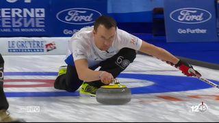 Mondiaux de curling: l'équipe de Suisse masculine ne se qualifie pas pour les quarts de finale [RTS]