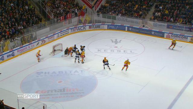 Hockey - Demi-finales playoffs: Lugano – Bienne (6-2) [RTS]
