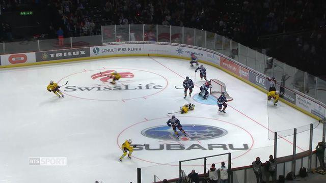 Hockey - Demi-finales playoffs: Zurich – Berne (3-2) [RTS]