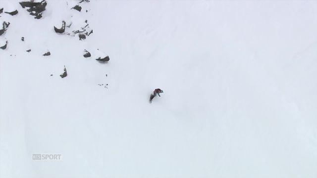 Verbier (SUI), snowboard dames: Marion Haerty (FRA) s'impose pour la 2e fois d'affiliée [RTS]