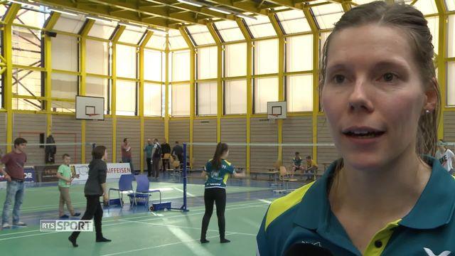 Badminton: portrait de la Chaux-de-Fonnière Sabrina Jacquet [RTS]