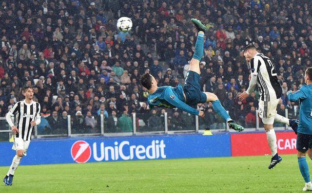 Cristiano Ronaldo a inscrit un des buts de l'année face à la Juventus. [Andrea Di Marco - Keystone]