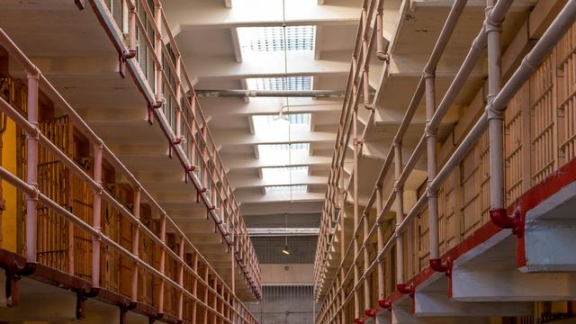 À l'intérieur de la prison américaine d'Alcatraz. [f11photo - Fotolia]