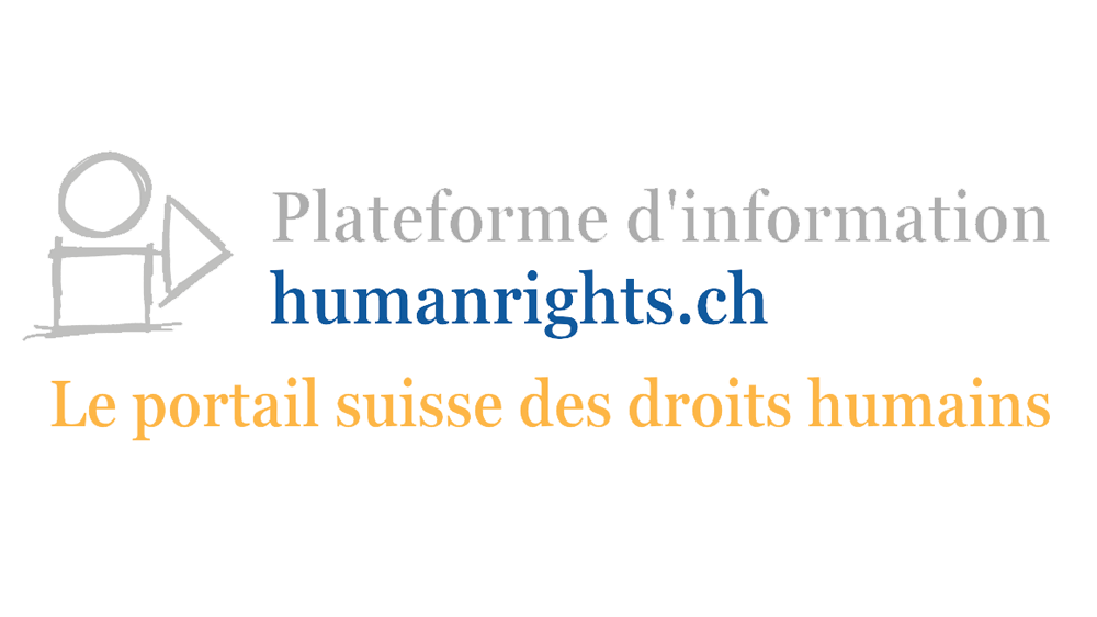 Plateforme d'information humanrights.ch