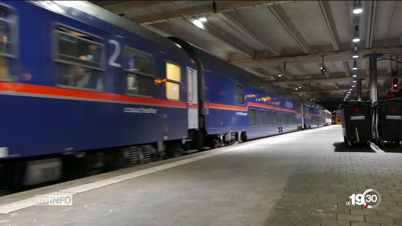 Les trains de nuit: une alternative à l'avion [RTS]