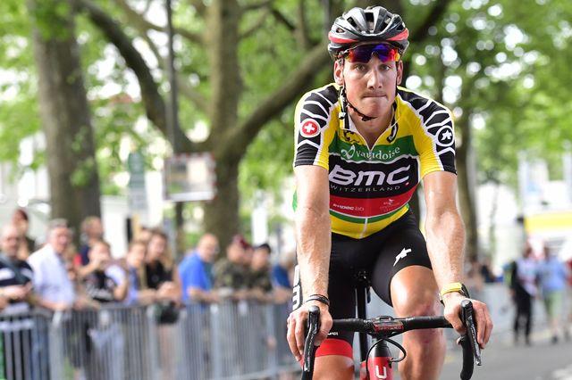 Küng avait remporté l'étape de Bulle l'an dernier. [Gian Ehrenzeller - Keystone]