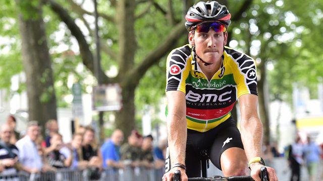 Küng avait remporté l'étape de Bulle lors de l'édition 2017. [Gian Ehrenzeller - Keystone]