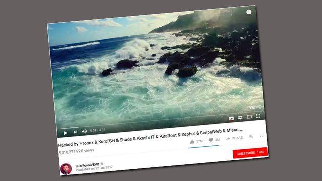 Piraté, le clip Despacito de Luis Fonsi venait de dépasser les 5 milliards de vues sur YouTube. [YouTube]