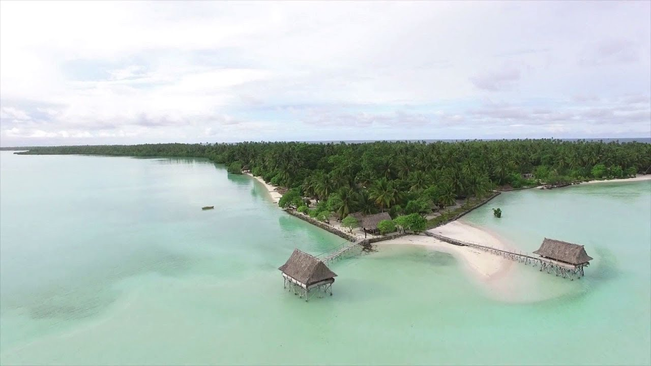 "Le paradis perdu de Kiribati, star du documentaire d'ouverture ""Anote's Ark""."