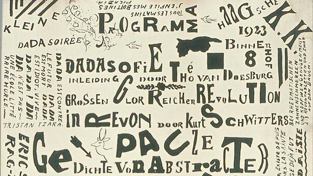 Naissance de Dada à Zurich en 1916 [Theo van Doesburg - Wikimedia Commons]