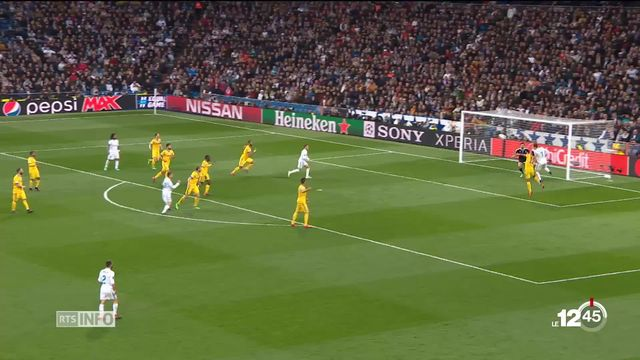 Football: le Real s'est qualifié pour les demi-finales de la Ligue des Champions [RTS]