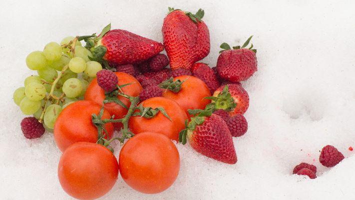 2016. Fruits et légumes hors saison, quelle salade ! [RTS/Anne KEARNEY]