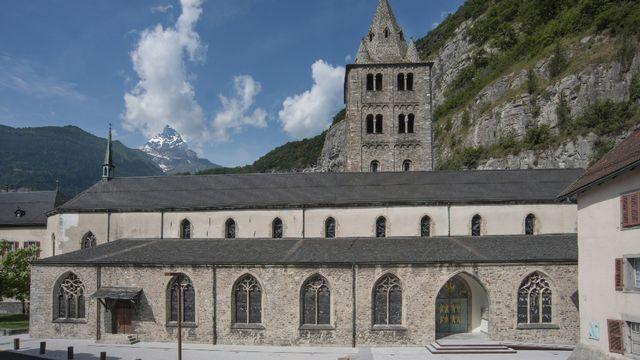 2014. Abbaye Saint-Maurice [Séverine Rouiller - RTS/Séverine Rouiller]