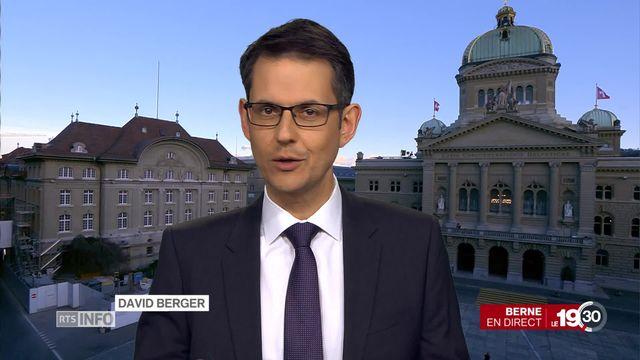 Protection des données - Suisse: l'analyse de David Berger [RTS]