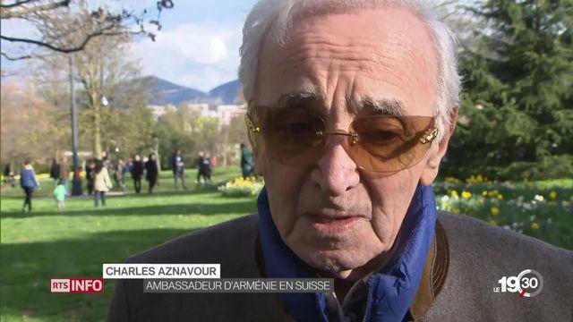 Génocide arménien: un mémorial qui divise à Genève [RTS]