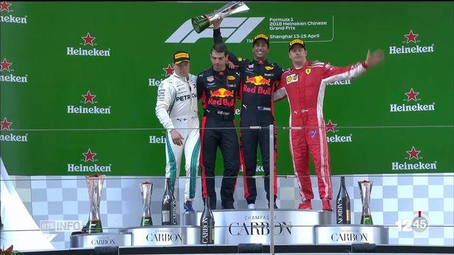 F1 - GP de Chine: première victoire de la saison pour Daniel Ricciardo [RTS]