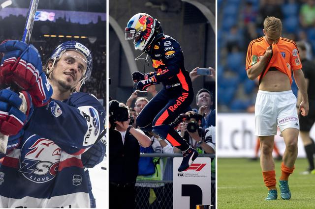 Le top-3 du week-end: les ZSC Lions, Ricciardo, le Lausanne-Sport [E.Leanza / A.Wong / G.Kefalas]
