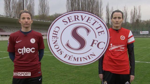 Football féminin: Servette Chênois a battu St-Gall (3-2) [RTS]