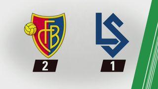 29e journée, Bâle – Lausanne (2-1) : tous les buts [RTS]